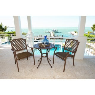 Panama Jack Island Breeze 3-piece Slatted Dining Group