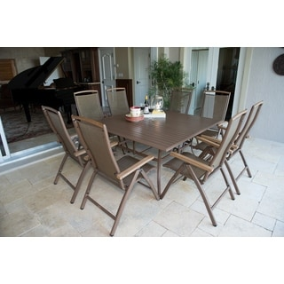 Panama Jack Island Breeze 9-piece Slatted Dining Group