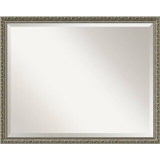 Wall Mirror Large, Parisian Silver 31 x 25-inch - large - 31 x 25-inch
