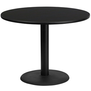 42'' Round Laminate Table Top with Table Height Base