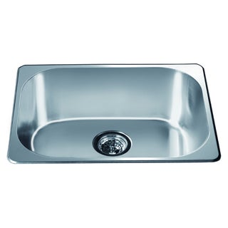 Dawn Top Mount Single Bowl Bar Sink