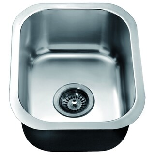 Dawn Undermount Single Bowl Stainless Steel Bar Sink