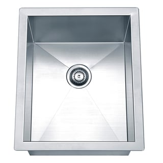 Dawn Undermount Square Single Bowl Bar Sink