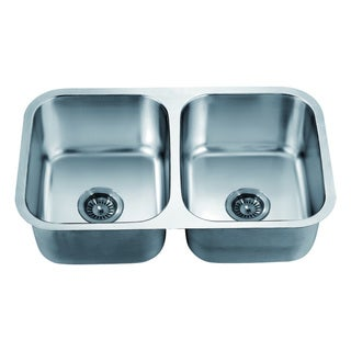 Dawn Undermount Equal Double Bowl Sink