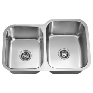 Double Bowl Undermount Sink (Small Bowl On Left)