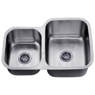 Dawn Undermount Double Bowl Sink (Small Bowl On Left)