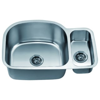 Dawn Undermount Double Bowl Sink Small Bowl On Right