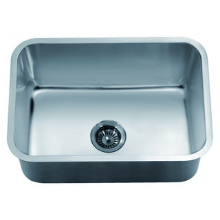 Dawn Undermount Stainless Steel Single Bowl Sink