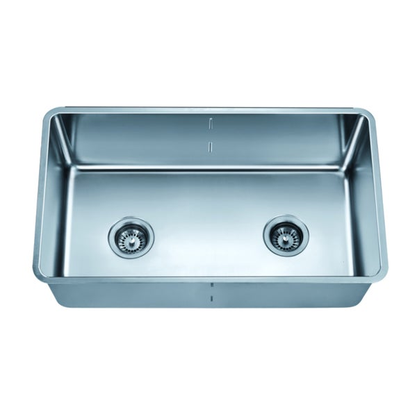 Dawn Undermount Single To Double Combination Bowl Sink With Removable  Acrylic Glass Divider (pd1717)
