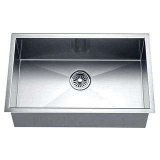 Dawn Undermount Square Single Bowl Sink
