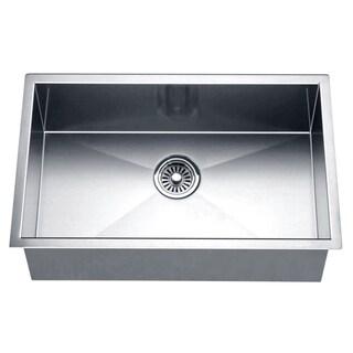 Dawn Undermount Square Single Bowl Sink