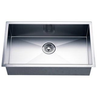 Dawn Undermount Stainless Steel Single Bowl Square Sink