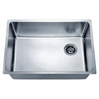 Dawn Undermount Single Bowl Sink with Rear Corner Drain