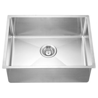 Dawn Undermount Small Corner Radius Single Bowl Sink