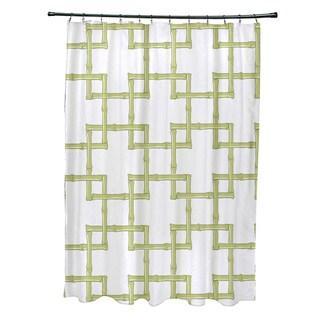 71 x 74 Bambies 2 Geometric Print Shower Curtain