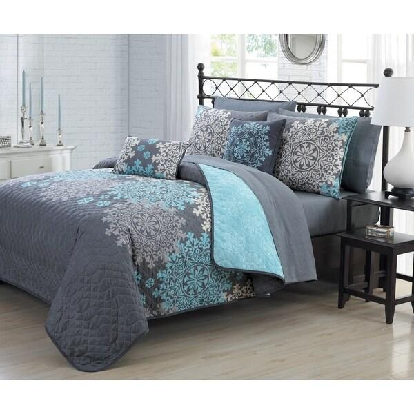 Avondale Manor Amber 9-piece Quilt Set