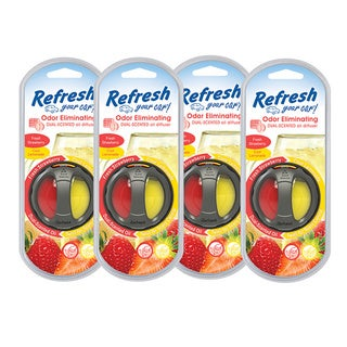 Refresh Your Car Oil Diffuser 4 Pack