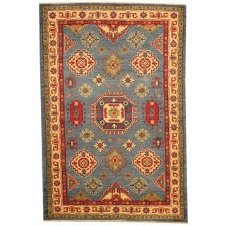 Herat Oriental Afghan Hand-knotted Tribal Kazak Wool Rug (3'3 x 5')