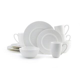 Mikasa Ortley 16-piece Dinnerware Set Bone China Round White