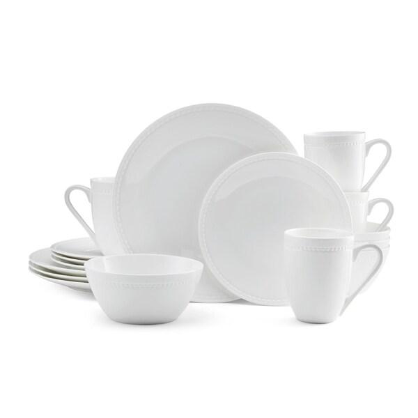 Shop mikasa loria 16 piece dinnerware set bone china round white mikasa loria 16 piece dinnerware set bone china round white mightylinksfo