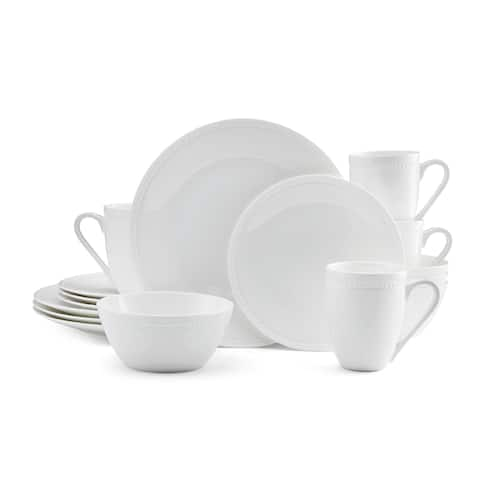 Mikasa Loria Bone China 16-piece Dinnerware Set Bone