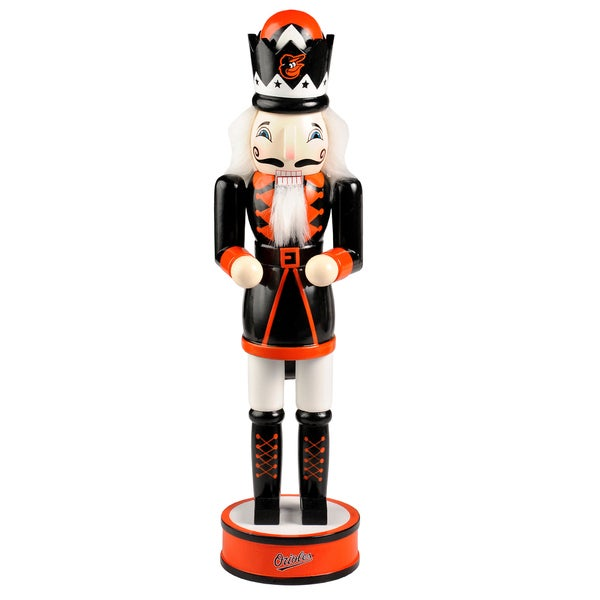 Forever Collectibles Baltimore Orioles 14-inch Collectible Nutcracker