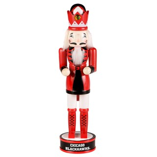 Forever Collectibles NHL Chicago Blackhawks 14-inch Collectible Nutcracker