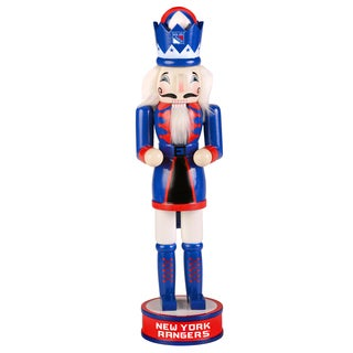 Forever Collectibles NHL New York Rangers 14-inch Collectible Nutcracker