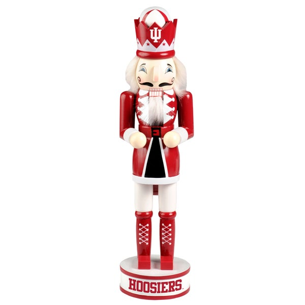 Forever Collectibles Indiana Hoosiers 14-inch Collectible Nutcracker