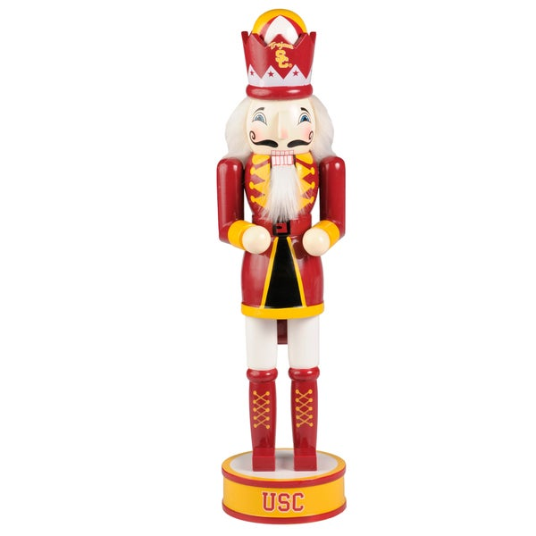 Forever Collectibles USC Trojans 14-inch Collectible Nutcracker