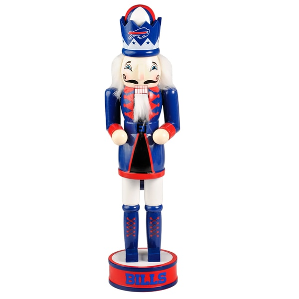 Forever Collectibles NFL Buffalo Bills 14-inch Collectible Nutcracker