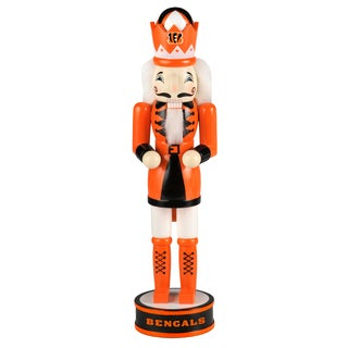 Forever Collectibles NFL Cincinnati Bengals 14-inch Collectible Nutcracker