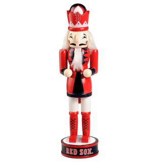 Forever Collectibles Boston Red Sox 14-inch Collectible Nutcracker