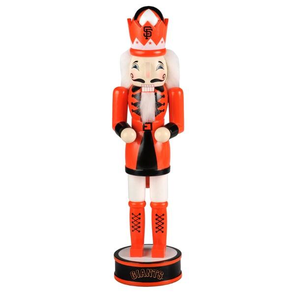 Forever Collectibles San Francisco Giants 14-inch Collectible Nutcracker