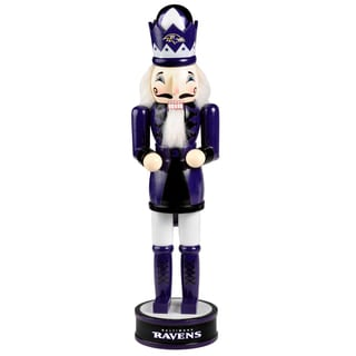 Forever Collectibles NFL Baltimore Ravens 14-inch Collectible Nutcracker