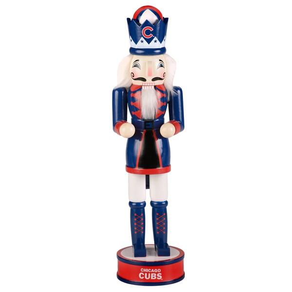 Forever Collectibles Chicago Cubs 14-inch Collectible Nutcracker