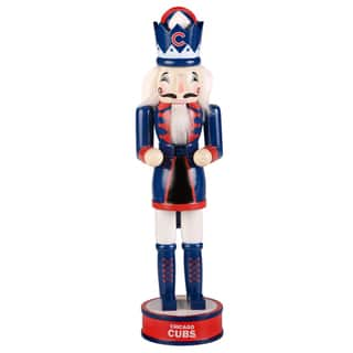 Forever Collectibles Chicago Cubs 14-inch Collectible Nutcracker|https://ak1.ostkcdn.com/images/products/10704880/P17764923.jpg?impolicy=medium