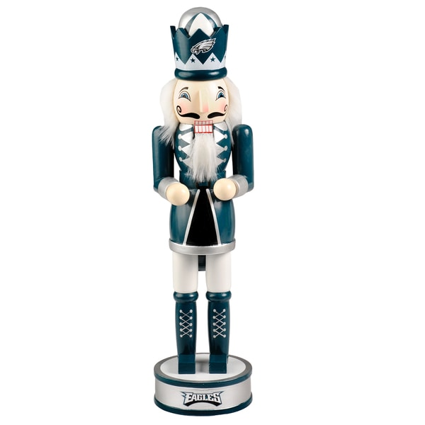 Forever Collectibles NFL Philadelphia Eagles 14-inch Collectible Nutcracker