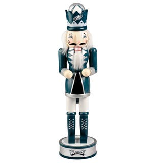 Forever Collectibles NFL Philadelphia Eagles 14-inch Collectible Nutcracker|https://ak1.ostkcdn.com/images/products/10704882/P17764938.jpg?impolicy=medium