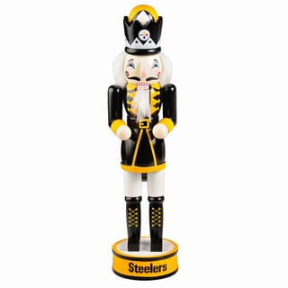 Forever Collectibles NFL Pittsburgh Steelers 14-inch Collectible Nutcracker