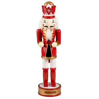 Forever Collectibles NFL San Francisco 49ers 14-inch Collectible Nutcracker