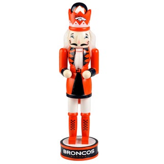 Forever Collectibles NFL Denver Broncos 14-inch Collectible Nutcracker