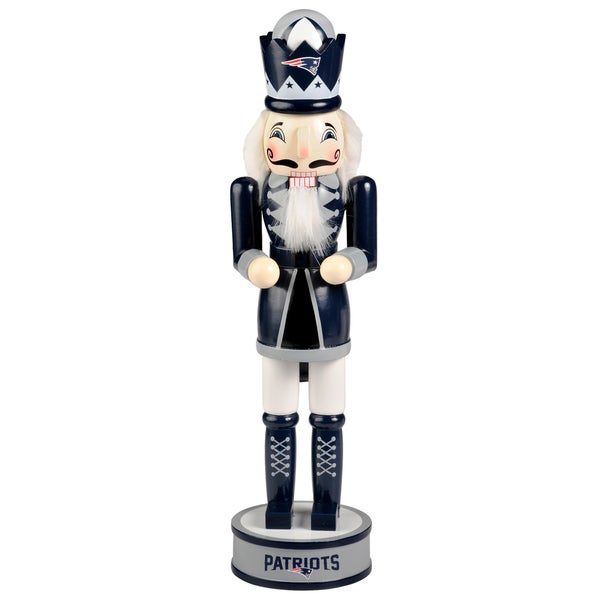 Forever Collectibles NFL New England Patriots 14-inch Collectible Nutcracker