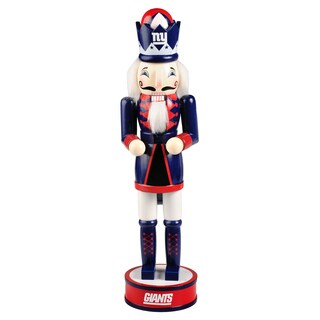 Forever Collectibles NFL New York Giants 14-inch Collectible Nutcracker