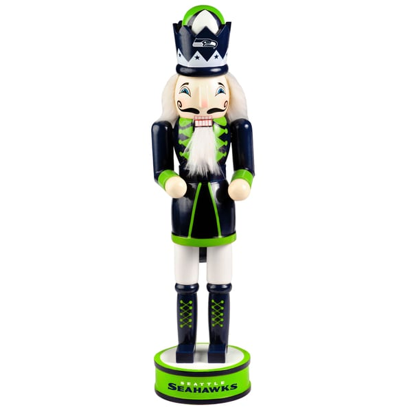 Forever Collectibles NFL Seattle Seahawks 14-inch Collectible Nutcracker