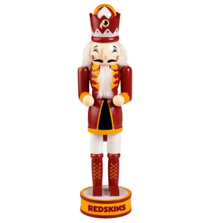 Forever Collectibles NFL Washington Redskins 14-inch Collectible Nutcracker