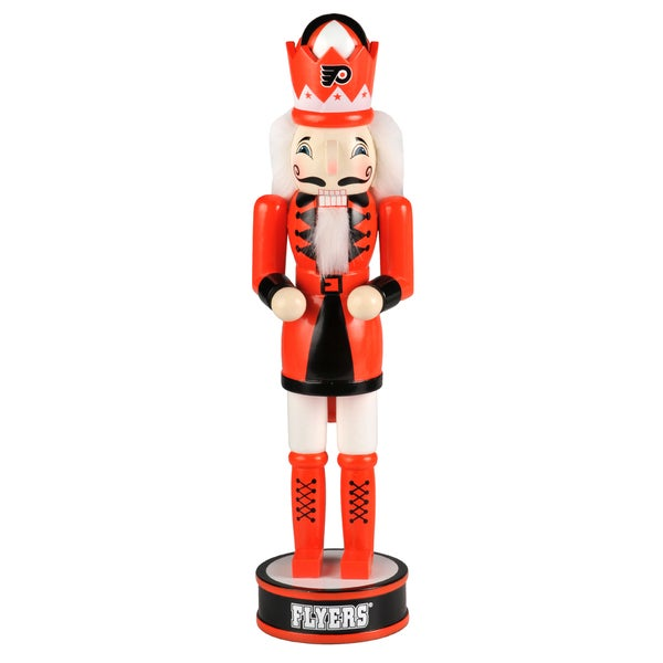 Forever Collectibles NHL Philadelphia Flyers 14-inch Collectible Nutcracker