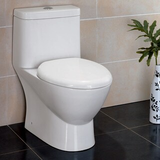 Fresca Serena 1-piece Dual Flush Toilet with Soft Close Seat