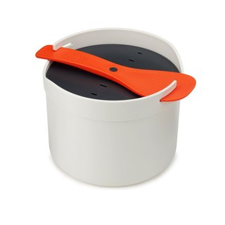 Joseph Joseph M-Cuisine Microwave Rice Cooker Orange/Beige