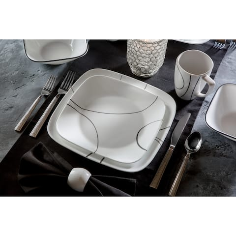 Corelle Square 16-piece Dining Set